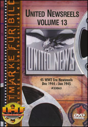 United Newsreels Volume 13 DVD - www.ihfhilm.com