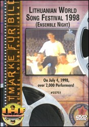 Lithuanian World Song Festival 1998 (Ensemble Night) DVD - www.ihfhilm.com