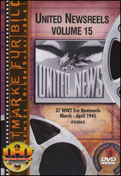 United Newsreels Volume 15 DVD - www.ihfhilm.com