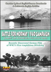 Battle For Norway 1940 Campaign (Kampf Um Norwegen: Feldzug 1940) DVD - www.ihfhilm.com