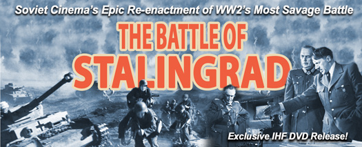 Battle of Stalingrad: The Restored Two Part Soviet WW2 Epic DVD - www.ihfhilm.com