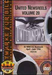 United Newsreels Volume 20 DVD - www.ihfhilm.com