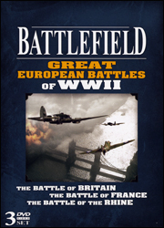 Battlefield: Great European Battles of WW2 DVD - www.ihfhilm.com