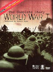 World War I: The Complete Story (Narrated By Robert Ryan) (CBS 1963) (DVD) - www.ihfhilm.com