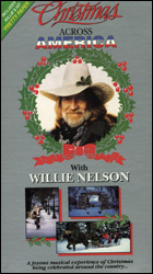 Christmas Across America with Willie Nelson  (VHS Tape) - www.ihfhilm.com