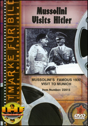 Mussolini Visits Hitler (Berlin Olympic Stadium, 1937)  DVD Educational Edition - www.ihfhilm.com