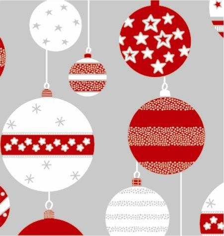 X9047 Skandia Ornaments/Metallized Wrapping Paper