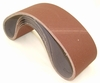 "Aluminum Oxide Sanding Belts, 4"" by 36"", 36 Grit, Pack of 10."