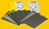 "Mirka Wet/Dry Sanding Sheets 9"" x 11"" P120C Grit, Pack of 25."