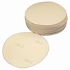 "6"" Diameter, Solid Hook and Loop Platinum Paper Sanding Discs, P400C Grit, Box of 50."