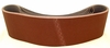"Aluminum Oxide Sanding Belts, 6"" by 48"", 80 Grit, Pack of 10."