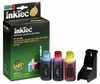 Color Ink Refill Kits for Lexmark 18C0033 (#33) & 18C0781 (#1) Inkjet Print Cartridges