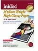 Medium Weight High Gloss Photo Paper - 20 Sheets