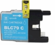Brother LC 79C Compatible Cyan Inkjet Printer Cartridges ( LC79c, LC-79c)