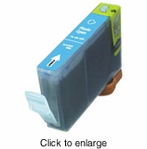 Canon BCI-6PC (BCI6PC) Compatible Photo Cyan Ink Cartridges - click to enlarge