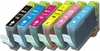 Set of Canon BCI-6 (BCI6) Compatible Inkjet Print Cartridges