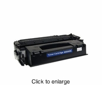 Remanufactured HP Q5949X (HP 49X) Laserjet toner cartridge for printer model # 1320 - click to enlarge