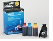 Color Ink Refill Kit for HP 75xl ink cartridges