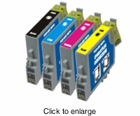 Set of Remanufactured Epson T069 Ink Cartridges - click to enlarge