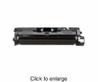 HP Remanufactured Q3960A (HP 122A BK) Black Laser Toner Cartridge - click to enlarge