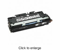 Remanufactured HP Q2670A (HP 308A BK) Black Color Laserjet Toner Cartridge - click to enlarge