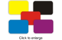 Colored Mousepads - Print With Our Opaque TShirt Transfer Paper! - click to enlarge