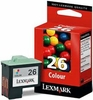 Genuine Lexmark 26 Color Inkjet Cartridge