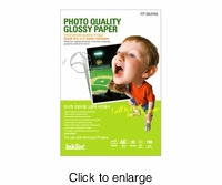 Inktec Photo Quality Gloss Paper - A6 (4x6) - 30 Sheets - click to enlarge