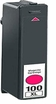 Compatible Lexmark 100XL Magenta Printer Ink Cartridges