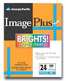 "Georgia Pacific Image Plus Brights Paper - 8.5"" x 11"" - 500 Sheets"