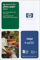 "4"" X 6"" Hewlett Packard Premium Plus Glossy Photo Paper - 20 Sheets"