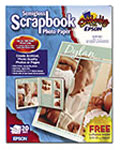 Semigloss Scrapbook Photo Paper - 20 Sheets