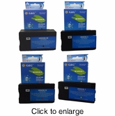 Compatible HP 950XL & 951XL Ink Cartridges - Set of Four - click to enlarge