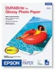 Epson DURABrite�ink Glossy Photo Paper - 20 Sheets