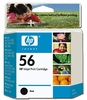 Genuine Hewlett Packard C6656AN ( HP 56 ) OEM Black Inkjet Print Cartridges