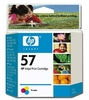 Genuine Hewlett Packard C6657AN ( HP 57 ) OEM Color Inkjet Cartridge