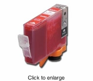 Canon BCI-6R Compatible Red Inkjet Cartridge for the Canon i9900 and Pixma iP8500 - click to enlarge