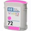 Empty Hewlett Packard 72 Magenta Ink Cartridge