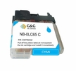 Compatible Brother LC 65 High Yield Cyan Ink Cartridge
