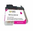 Compatible Brother LC 65 High Yield Magenta Ink Cartridge