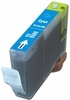 Compatible Canon BCI-3eC (BCI-3C) Cyan Printer Ink Cartridges