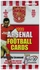 UEFA: 1999 Trade Cards Arsenal FC Soccer Cards Pack (5 cards)