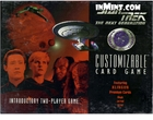 Star Trek: The Next Generation Klingon Edition 2 Introductory Two-Player Game (155 cards)