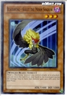 Yugioh: Blackwing - Kalut the Moon Shadow (C) GLD3-EN026 (Limited Edition)