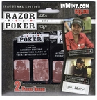 WPT: 2006 Razor Inaugural Edition Poker Cards Pack Set (2 packs) (Retail Edition)
