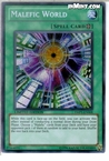 Yugioh: Malefic World (SCR) YMP1-EN008 (Limited Edition)