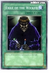 Yugioh: Exile of the Wicked (C) GLD2-EN034 (Limited Edition)