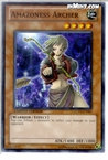 Yugioh: Amazoness Archer (C) GLD3-EN003 (Limited Edition)