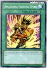 Yugioh: Amazoness Fighting Spirit (C) DREV-EN054 (1st Edition)