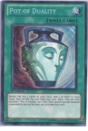 Yugioh: Pot of Duality (SCR) DREV-EN062 (1st Edition)